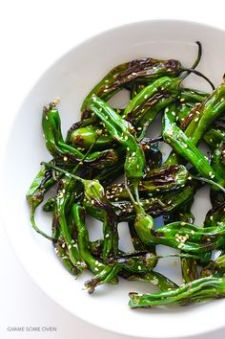 sesame shishito peppers = my new jam