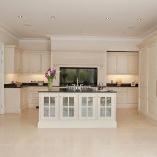 clean neutral kitchen